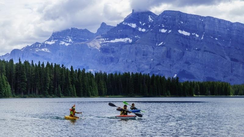 Passeios de verão em Banff