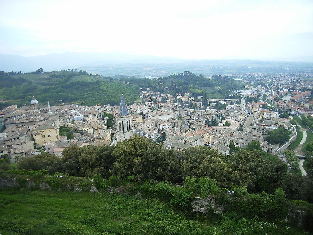 cidades medievais perto de Roma