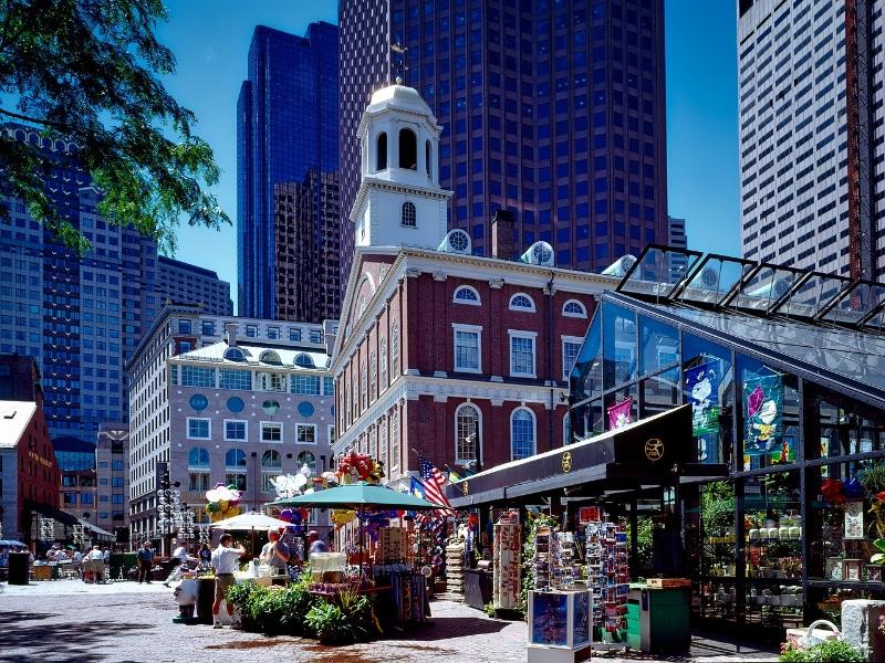 Compras de luxo em Boston
