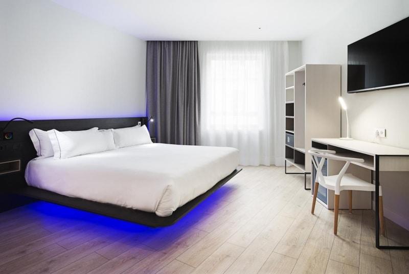 Hotéis diferentes em Madrid
