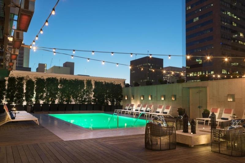 Hotel com rooftop em San Diego