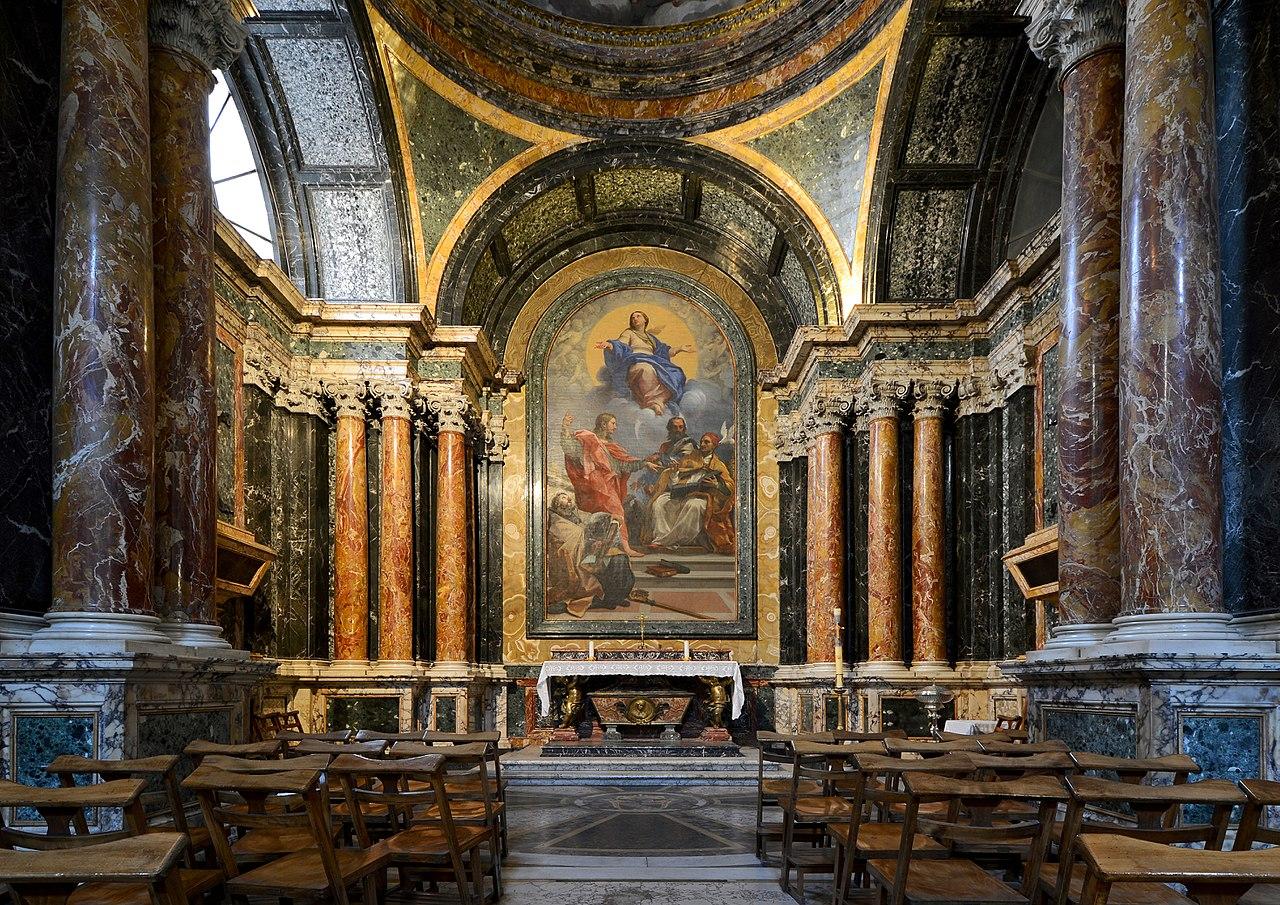 roteiro religioso em Roma