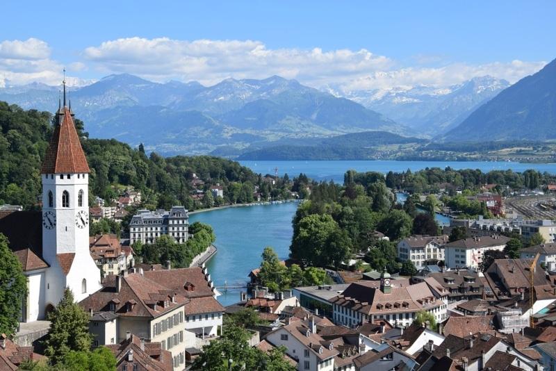 Internet na Suíça