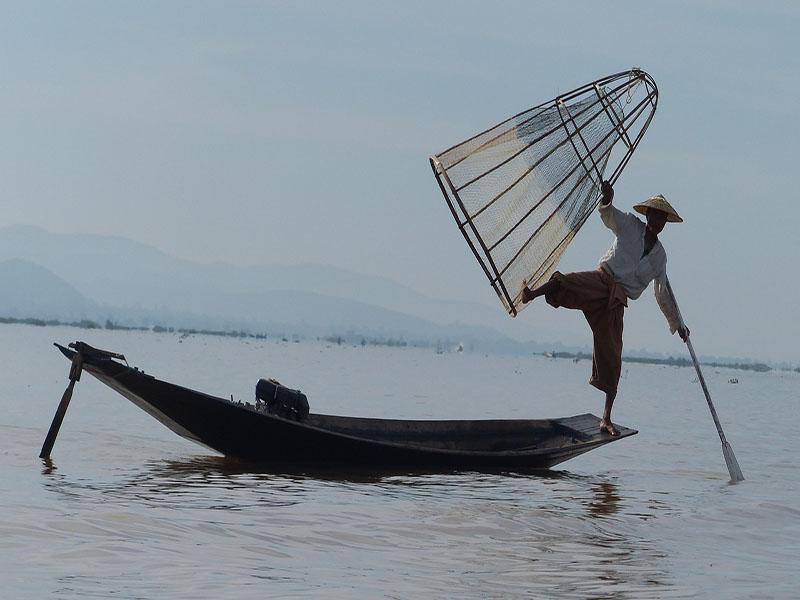 Turismo em Myanmar.