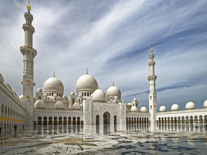 Pontos turísticos nos Emirados Árabes