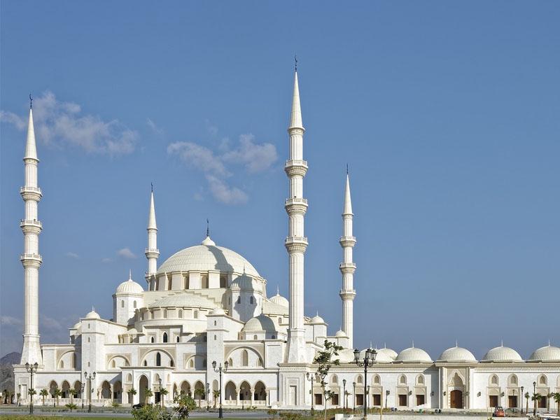 Cidades turísticas nos Emirados Árabes