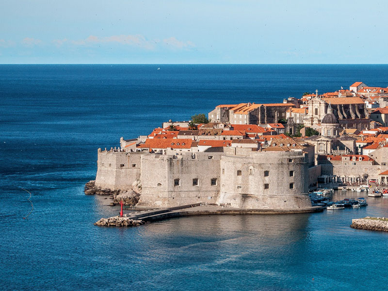 Principais cidades da Croácia
