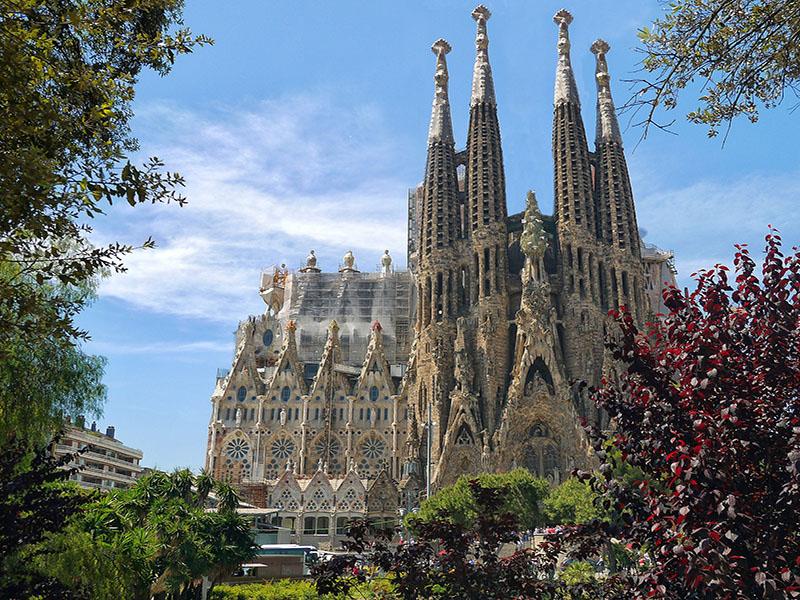 catedral sagrada família Barcelona