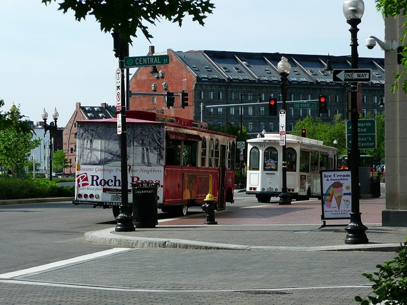 Como andar de ônibus em Boston