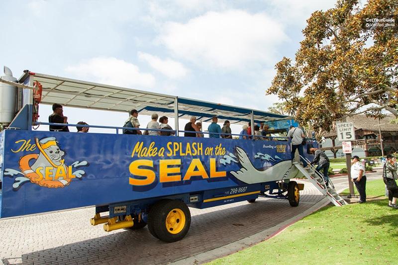 Ônibus de passeio em San Diego