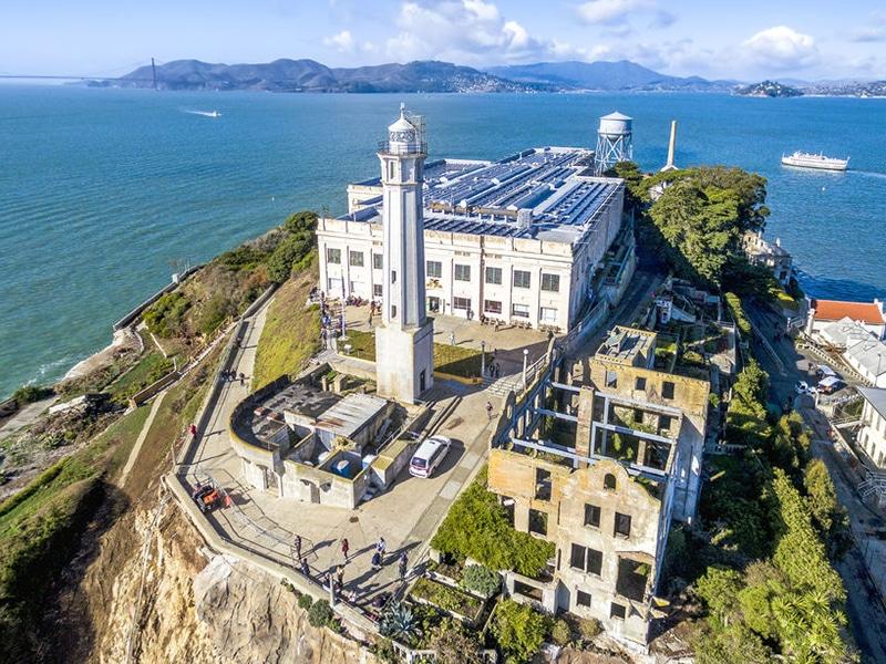Visita à prisão de Alcatraz