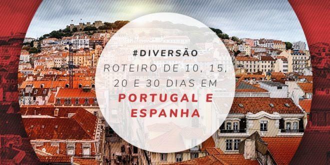 Roteiro por Portugal e Espanha