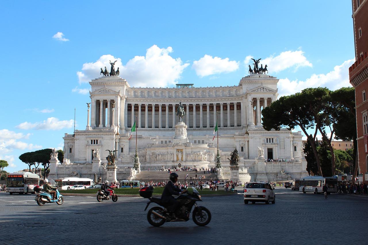 4 dias em Roma