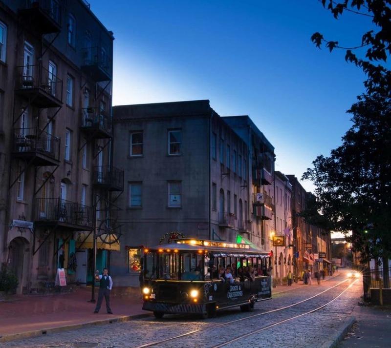Passeio em Savannah