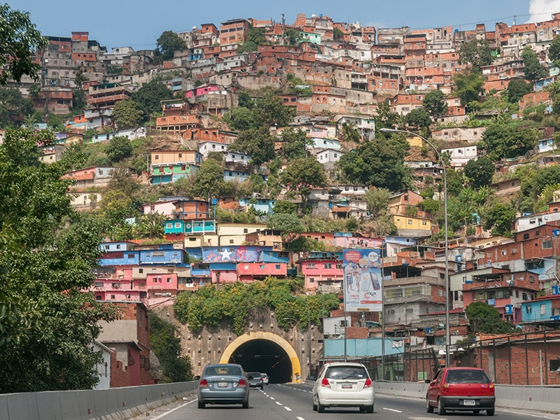 Cidades turística na Venezuela, na America do Sul