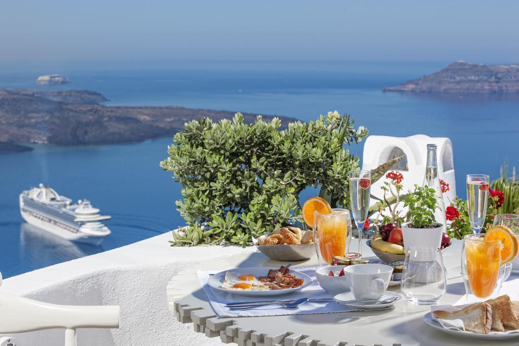 Hoteis incríveis em Santorini