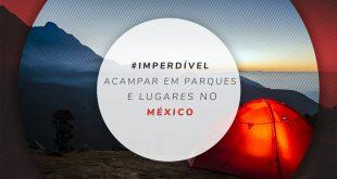 Parques com camping no México