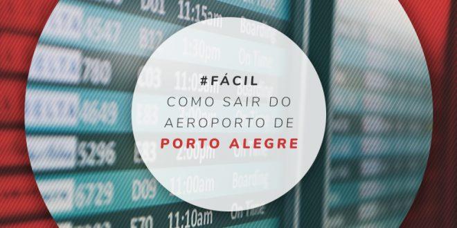 Transporte no aeroporto de Porto Alegre