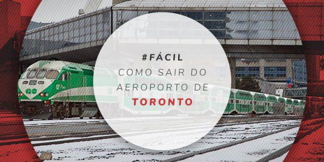 Transporte público no aeroporto de Toronto