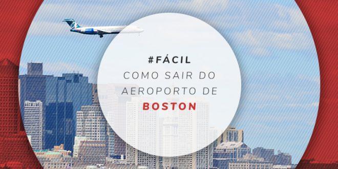 Transporte público no aeroporto de Boston
