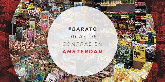 Onde comprar lembrancinhas em Amsterdam