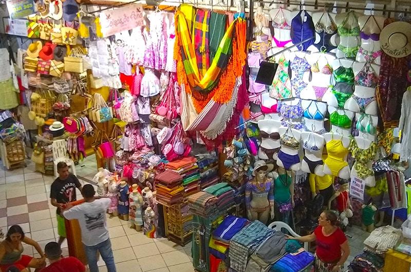 Atrações do centro de Fortaleza