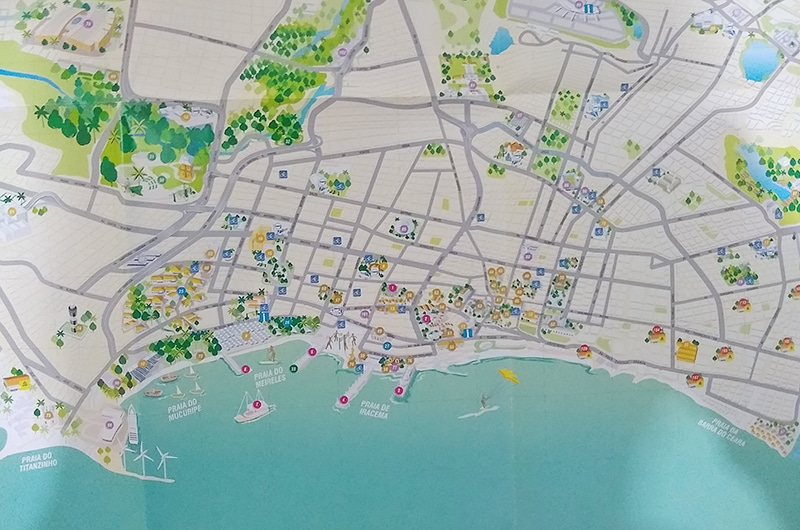 Lugares para visitar em Fortaleza