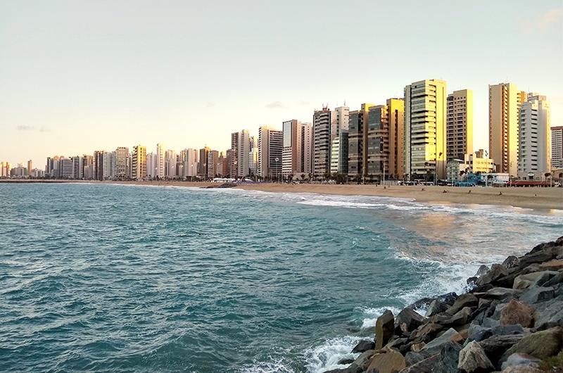 Beira Mar de Fortaleza