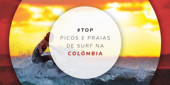 Melhores praias para surfar na Colômbia