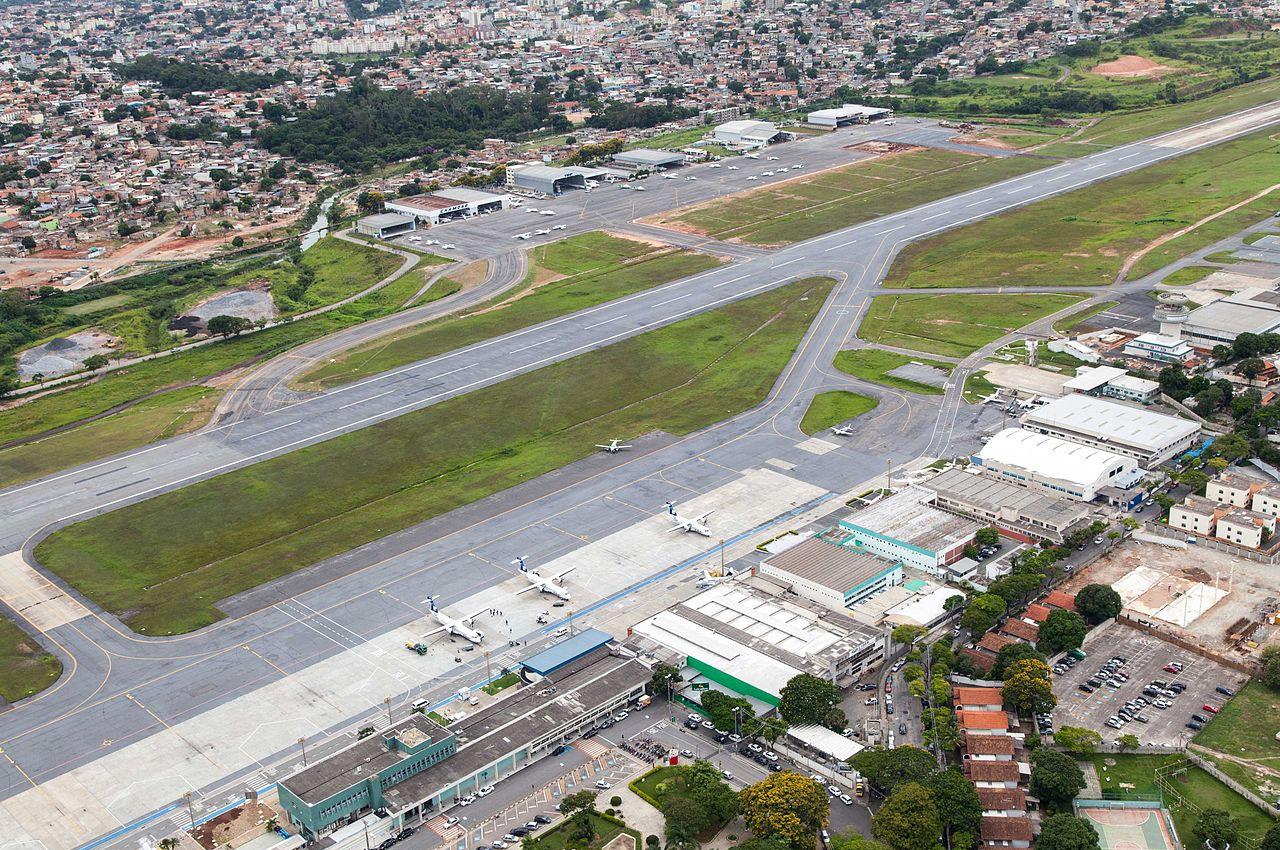 aeroporto da pampulha bh