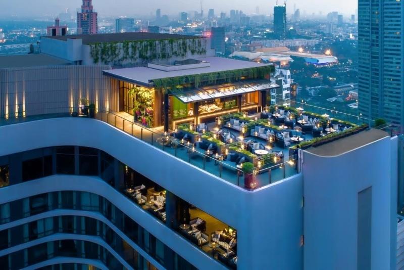 Hotel com rooftop em Bangkok