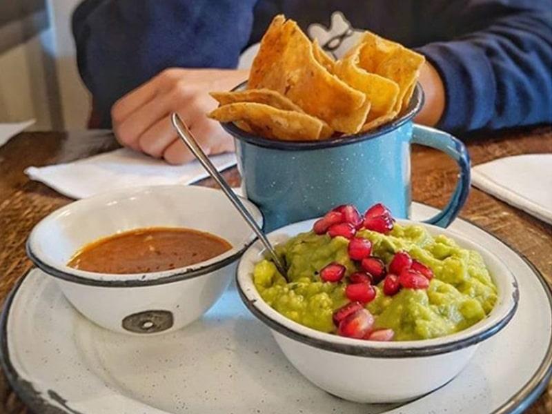 Comida mexicana em Toronto