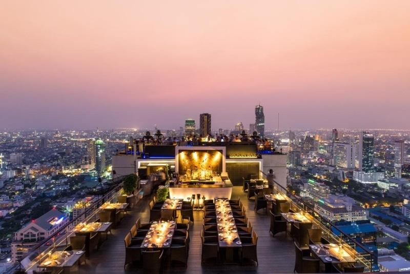 Hotéis com vista em Bangkok