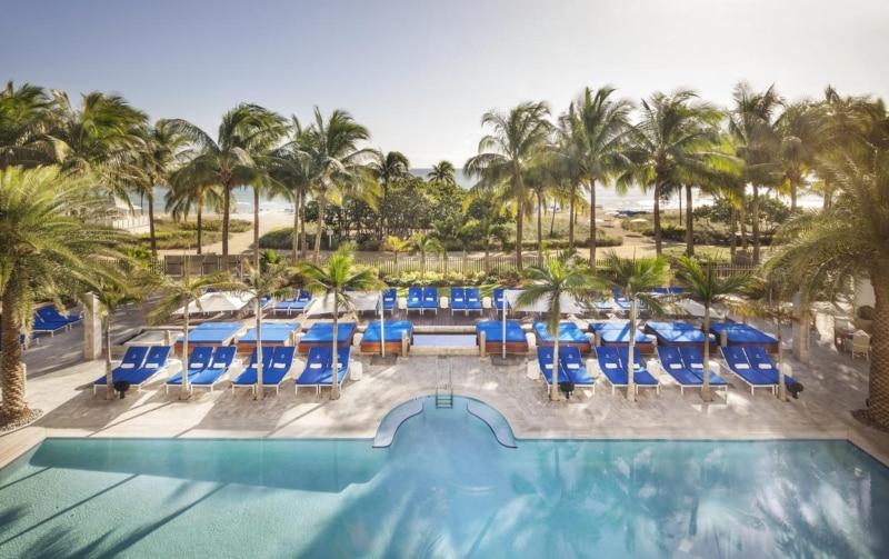 Hotel à beira-mar em Miami