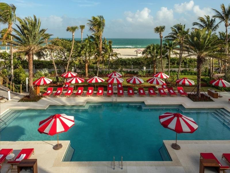 Hotel com piscina em Miami