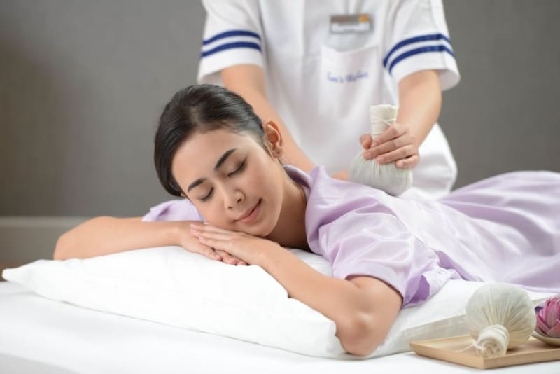 Massagem tailandesa em Bangkok