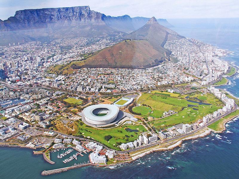 Turismo em Cape Town.
