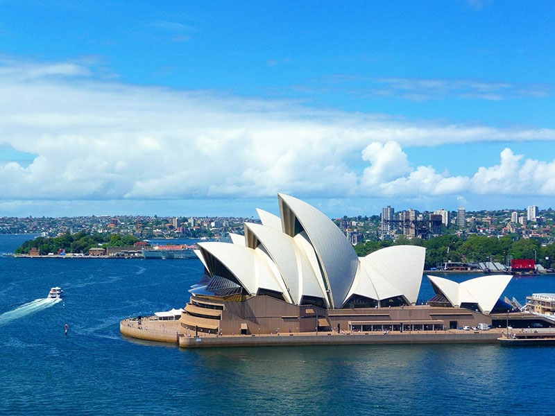 Monumentos famosos em Sydney