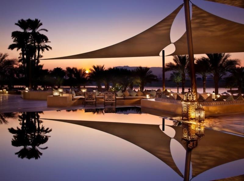 Hotéis famosos no Egito