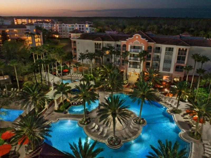 Hotéis perto dos parques