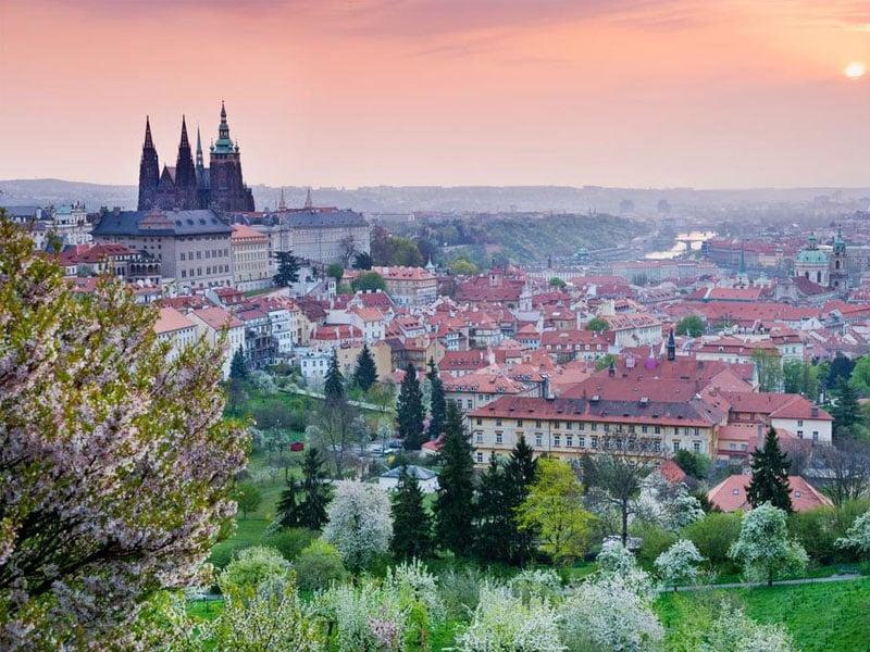 Roteiro na República Tcheca