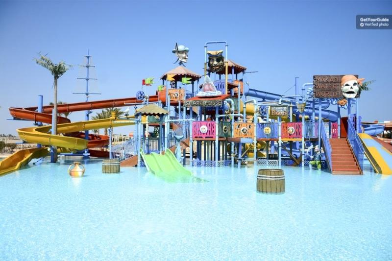 Parque aquático no Egito