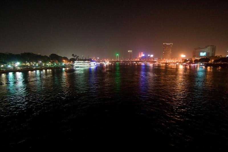Tour de barco no Egito