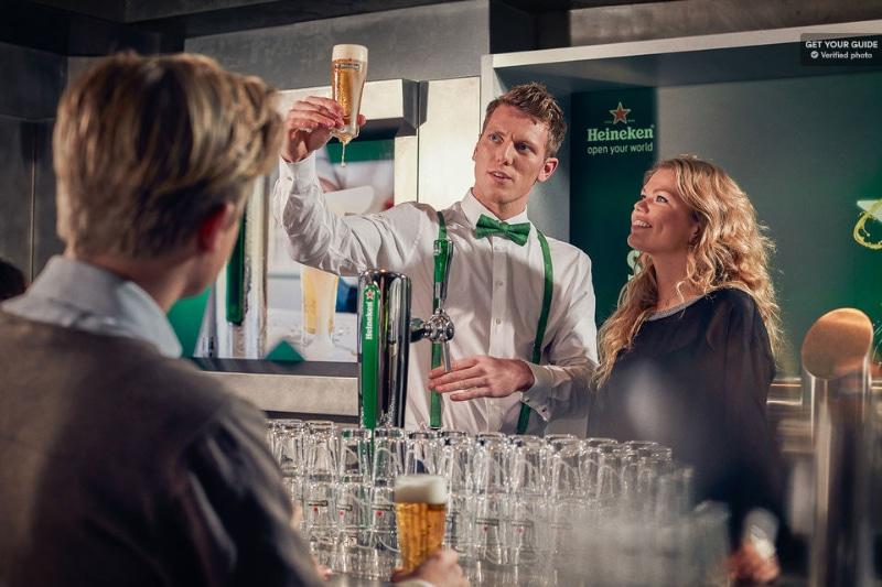 Cerveja Heineken Amsterdam visita