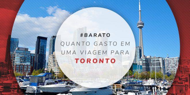Quanto gasto em Toronto