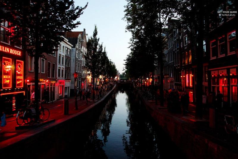 Passeio em Amsterdam