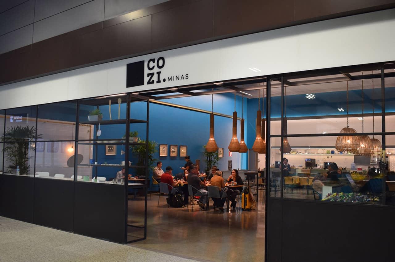 aeroporto de confins restaurantes
