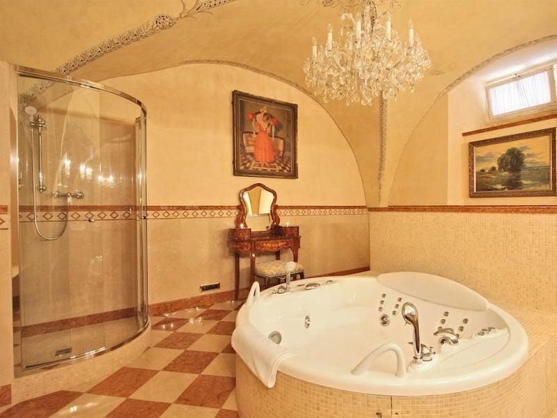 Suíte de luxo em Praga