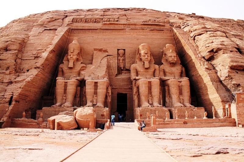 Visita aos templos do Egito
