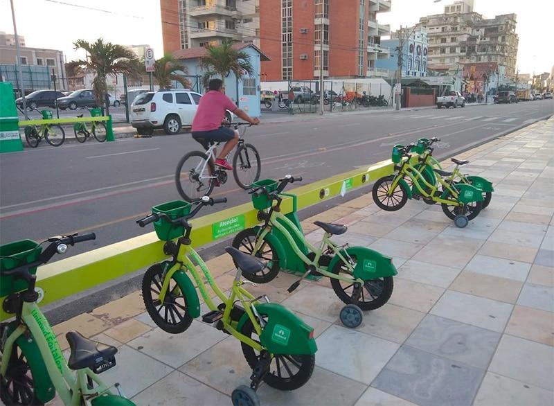 Bicicleta em Fortaleza